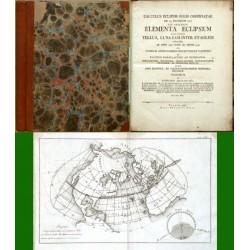 Calculus Eclipsis Solis Observatae  Elementa Eclipsium