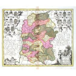 Wiltonia sive Comitatvs Wiltoniensis. Anglis Wilshire