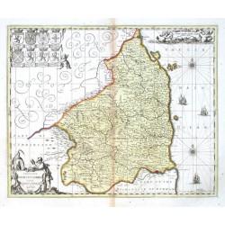 Comitatvs Nortvmbria vernacule Northumberland