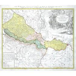 Tabula Geografica exhibens Regnum Sclavoniae cum Syrmii Ducatu
