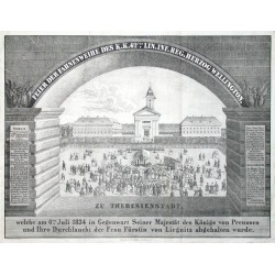 Feier der Fahnenweihe  zu Theresienstadt