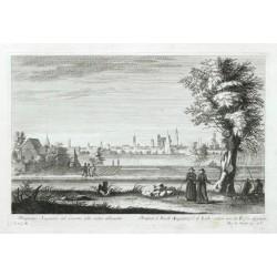 Prospectus Augustae ad Licum  - Prospect d. Stadt Augsburg v: d. Lech - seiten