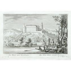 Arx Werth supra Straubingen. - Das Schloss Werth, oberhalb Straubingen