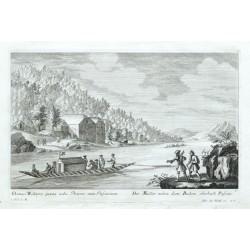 Domus Molitoris  - Der Müller neben dem Becken oberhalb Passau