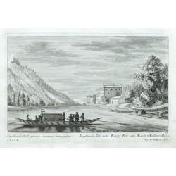 Engelhards-Zell, erste Keijssl. Post oder Mauth 3 Meillen v. Passau