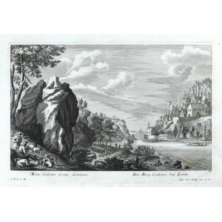 Mons Calvari prope Lentium. - Der Berg Calvari beij Lintz
