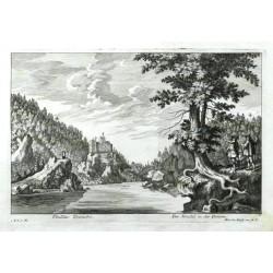 Ebullitio Danubii. - Der Strudel in der Donau