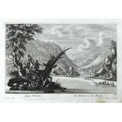 Gurges Danubii. - Der Würbel in der Donau