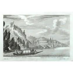 Arx et Coenobium Türnstein. - Schloss und Closter Türnstein ober Crembs