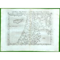 Soria et Terra Sancta Nvova Tavola