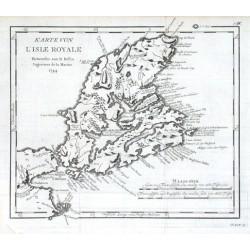 Karte von L'Isle Royale