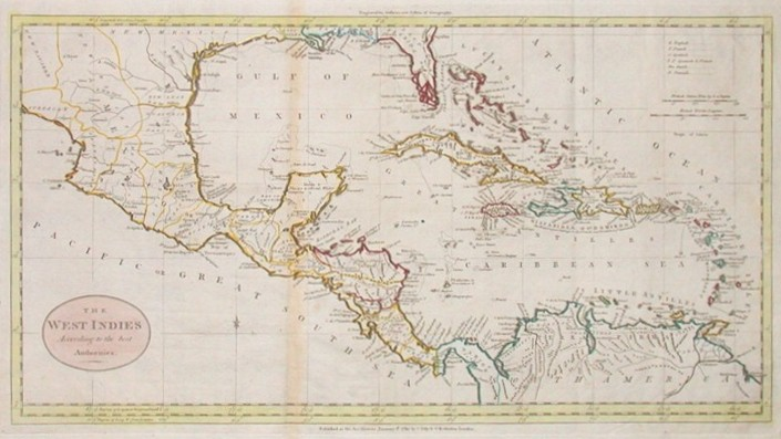 The West Indies According to the best Authorities