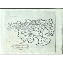 Zante insula posta nel mare Mediteraneo