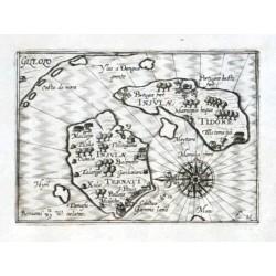 Insulae Ternati. Insulae Tidore