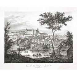 Ansicht des Schlosses Zamrsk