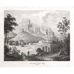 Ansicht der Ruine Raby