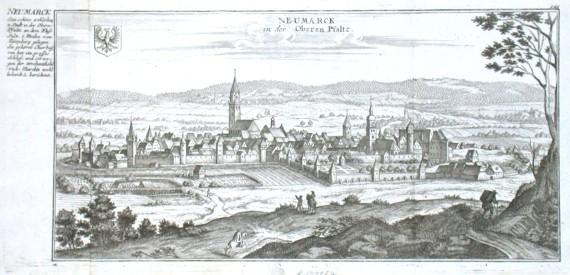 Neumarck in der Oberen Pfaltz - Stará mapa
