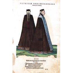 Patriciae Norimbergenses euntes ad conuiuia