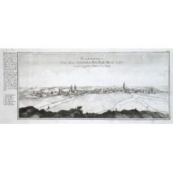 Naumburg. Eine ihrer Jaehrlichen Petri Pauli Messe halber weith beruffene Statt an der Saale