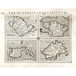 Anglesey Ins., Wight ol. Vectis, Ins. Garnesay, Ins. Iarsay