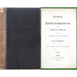 Die Grenzen der Volksrepräsentation in der constitutionellen Monarchie