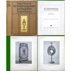 Alte Goldschmiedearbeiten aus schwäbischen Kirchenschätze
