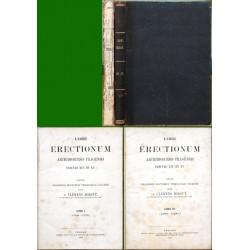 Libri Erectionum archidioecesis Pragensis saeculo XIV. et XV.