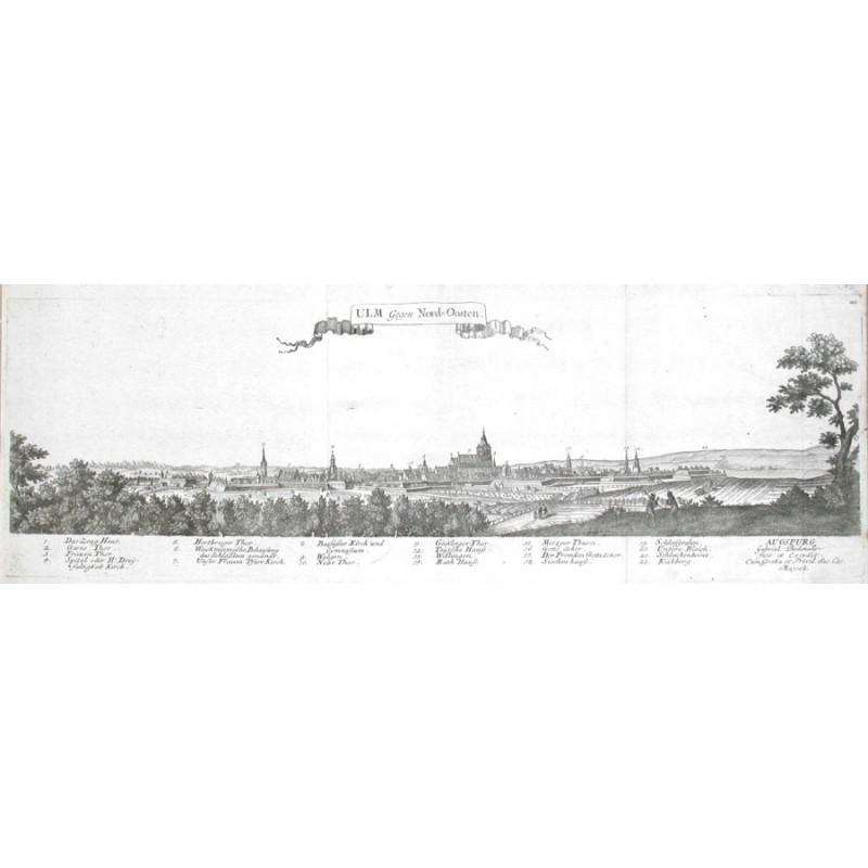 Ulm Gegen Nord-Osten