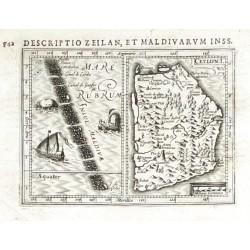 Ceylon I., Insul. Maldivae