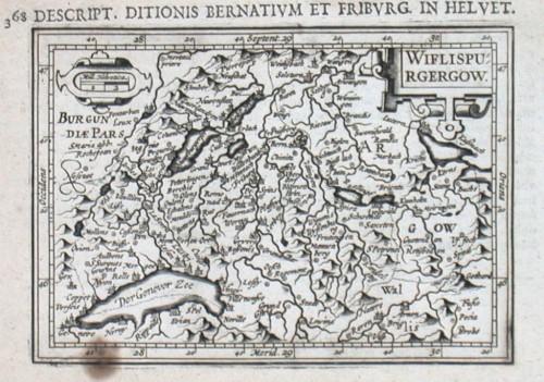 Wiflispurgergow - Antique map