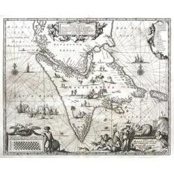 Tabula Magellanica, qua Tierrae del Fuego