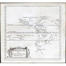 Americae sive Indiae Occidentalis Tabula Generalis
