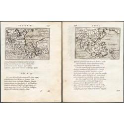 Asien - Indiae orientalis insularumque ... - Tartariae sive magni Chami regni typus