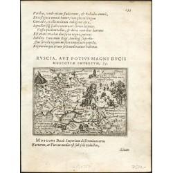 Russiae moscouiae et tartariae descriptio autore Antonio Jenkensono