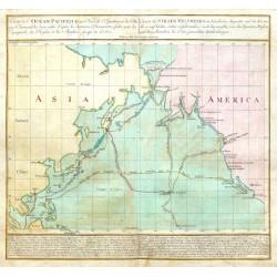 Carte de Océan Pacifique