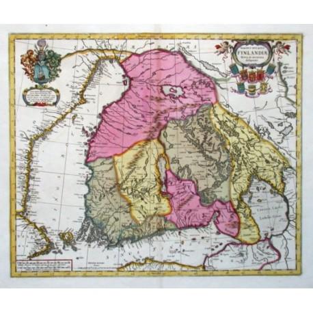 Magnus Ducatus Finlandiae nova et accurata delineatio