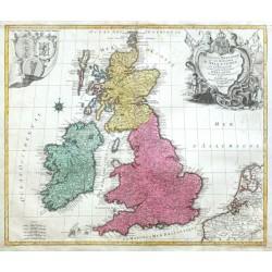 La Grande Bretagne ou les Royaumes d'Angleterre et d'Ecosse comme aussi le Royaume d'Irlande