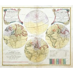 Die verfinsterte Erdkugel d. i.  Vorstellvng der Sonnen- od. Erd-Finsternis  1748