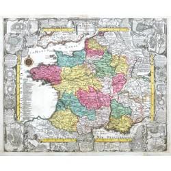 Le royaume de France et les Conquetes de Louis le Grand