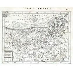 Comitatus Flandriae Nova Tabula