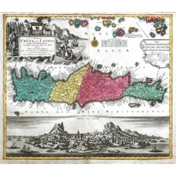 Insula Creta nunc Candia