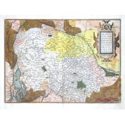 Brabantiae,  provinciae descriptio