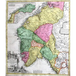 Regni Norvegiae accurata tabula
