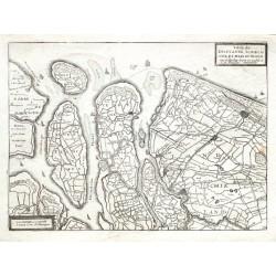 Table de Delflande, Schielande, et Isles de Voorn