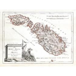 Die Insel Malta, vormahls Melita