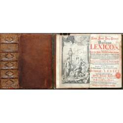 Curieuses und Reales Natur-, Kunst-, Berg-, Gewerck- und Handlungs-Lexicon,