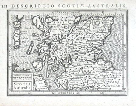 Scotia Australis - Alte Landkarte