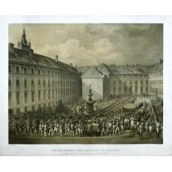 Zug zur Krönung Jhrer Majestaet der Kaiserin als Königin von Böhmen