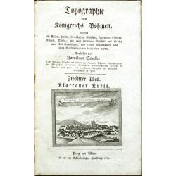Topographie des Königreichs Böhmen ... Zwölfter Theil. Klattauer Kreis