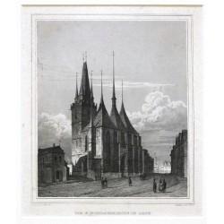 Die St. Nicolauskirche in Laun